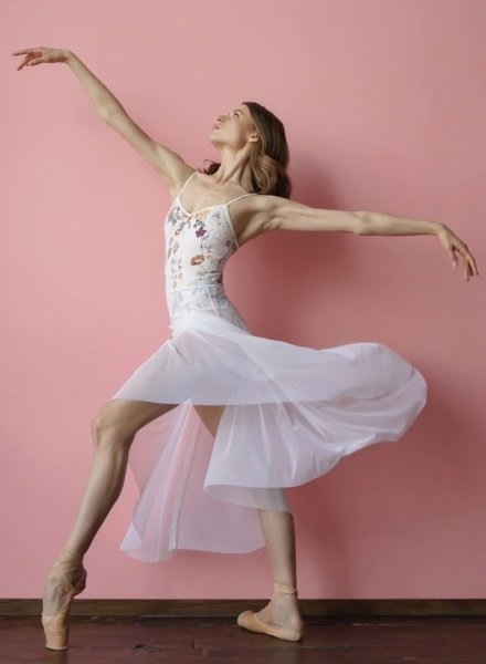 Elevé Dancewear Nolte Enchanting Floral Camisole Leotard