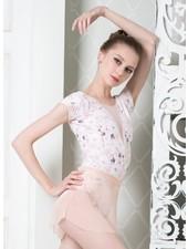 Elevé Dancewear Tempe Peaches & Cream Cap Sleeve Leotard
