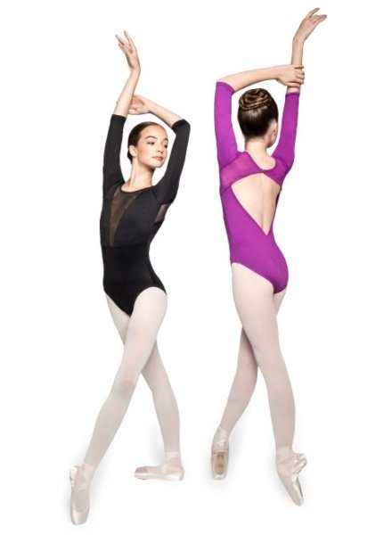 Russian Pointe (She's) INSPIRED 3/4 Sleeve Leotard