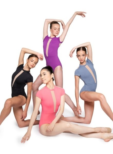 Russian Pointe (She's) BOLD Cap Sleeve Leotard