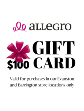 $100 Allegro Dance Boutique In-Store Gift Card