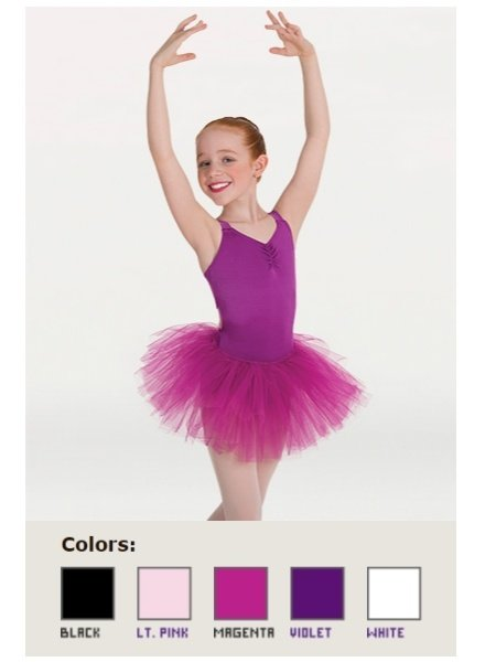 Body Wrappers Adult Soft Tulle Tutu