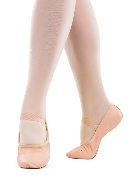 Só Dança Bella Youth Pink Full Sole Leather Ballet Shoe