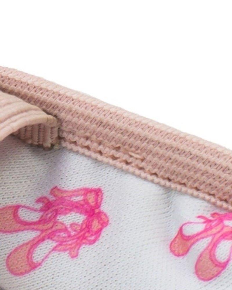 Só Dança Bella Adult Pink Full Sole Leather Ballet Shoe