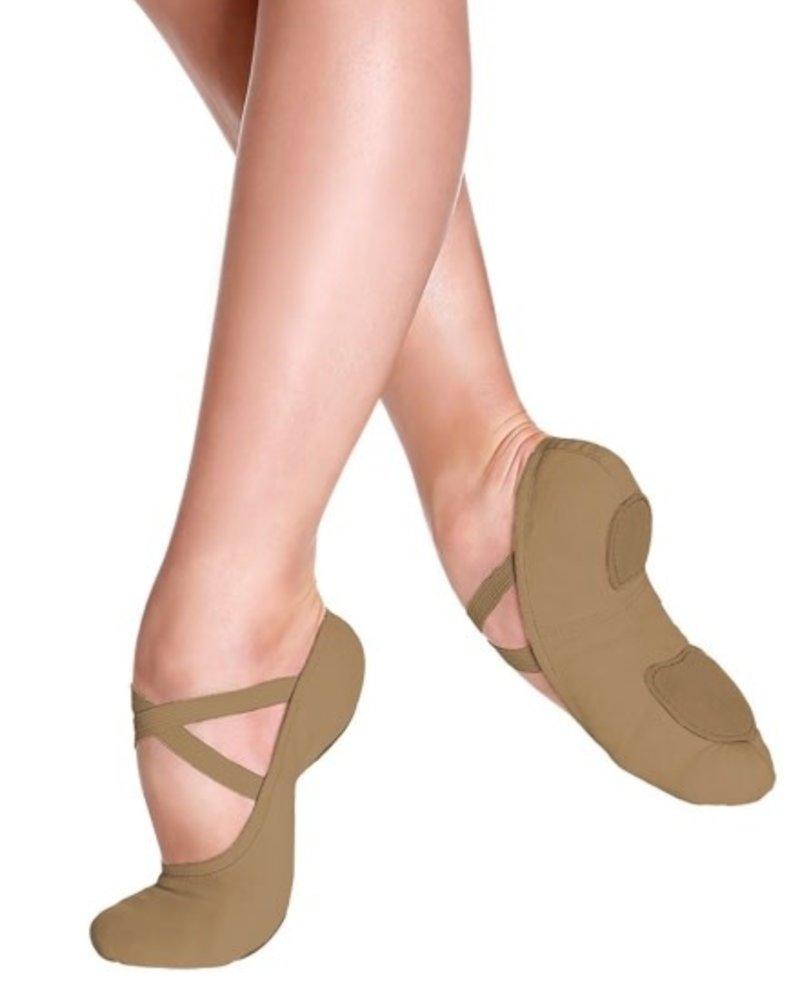Só Dança Bliss Youth Stretch Canvas Ballet Shoe