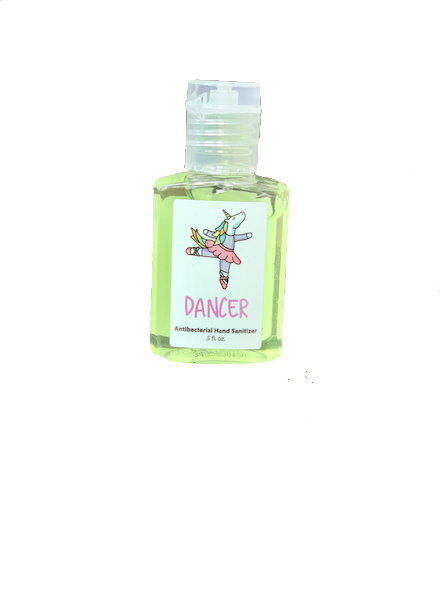 Unicorn Ballerina 0.5 oz Hand Sanitizer (62% Ethyl Alcohol)