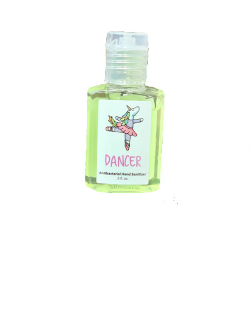Unicorn Ballerina 0.5 oz Hand Sanitizer (62% Ethyl Alcohol)