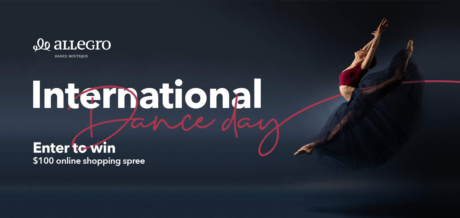 International Dance Day Shopping Spree Contest