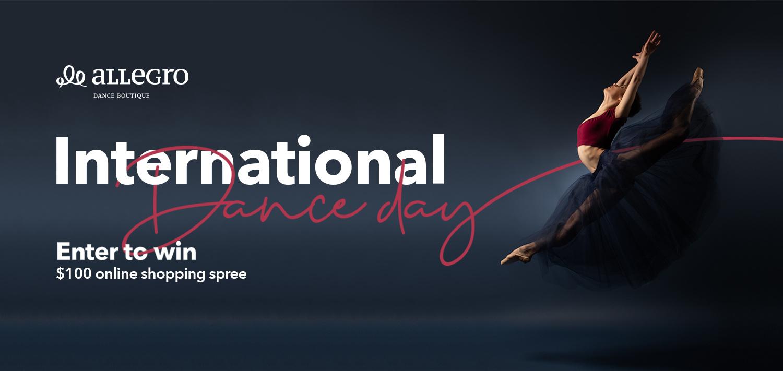 International Dance Day Shopping Spree Contest