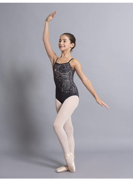 Ballet Rosa Grace Printed Camisole Leotard