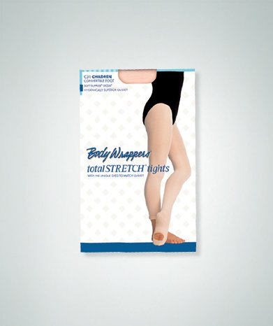 Body Wrappers Women's Convertible Tights