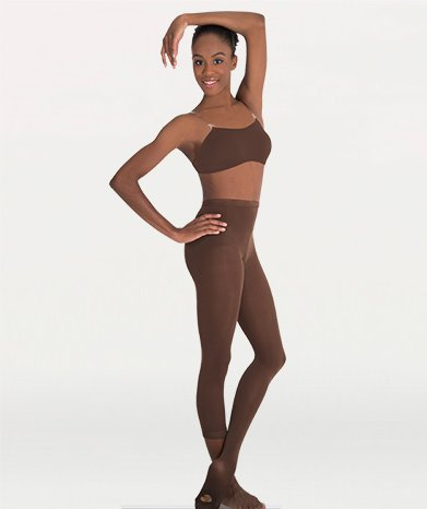 Body Wrappers Girl's Footed Tights