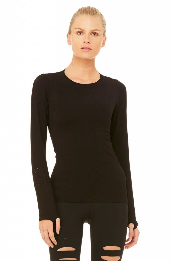 Alo Exhale Long Sleeve Top by Alo