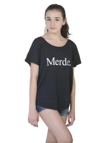 Farina Bodywear Merde Super Wide Neck T-Shirt