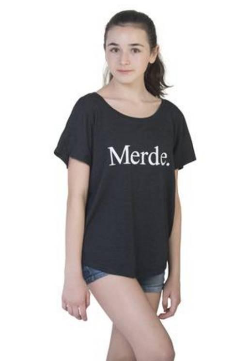 Farina Bodywear Merde Super Wide Neck T-Shirt