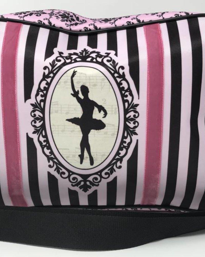 El Petit Ballet Striped Duffel Bag
