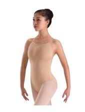 Motionwear Skin Tone Adjustable Strap Leotard