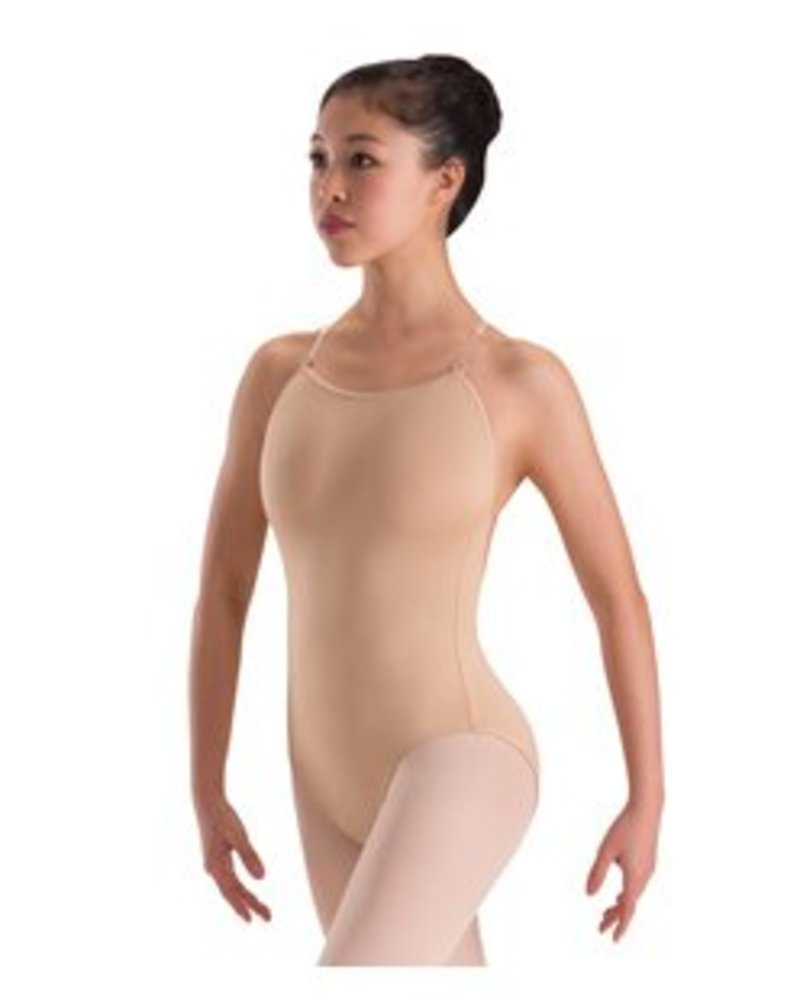 Motionwear Skin Tone Adjustable Strap Leotard