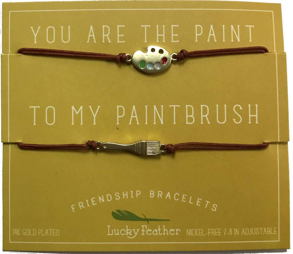 Lucky Feather Friendship Bracelet