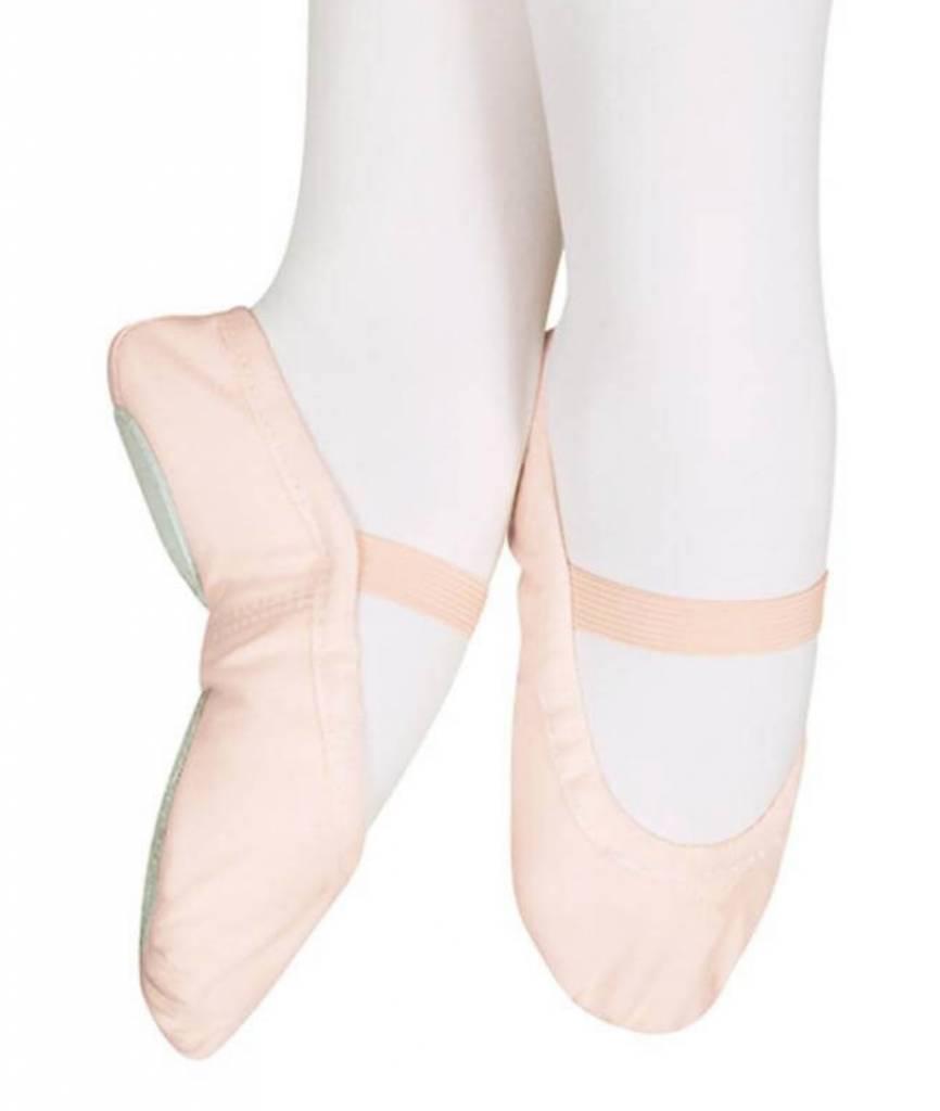 d3138180f02 Sansha Star-Split Kid s Canvas Ballet Shoe - Allegro Dance Boutique