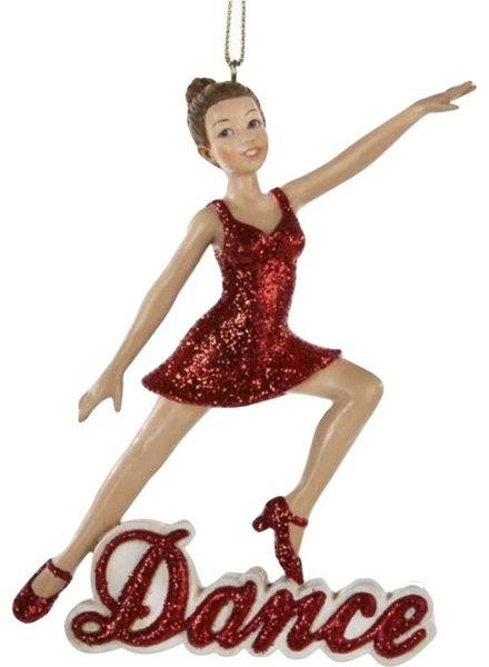 """Dance"" Girl Ornament"