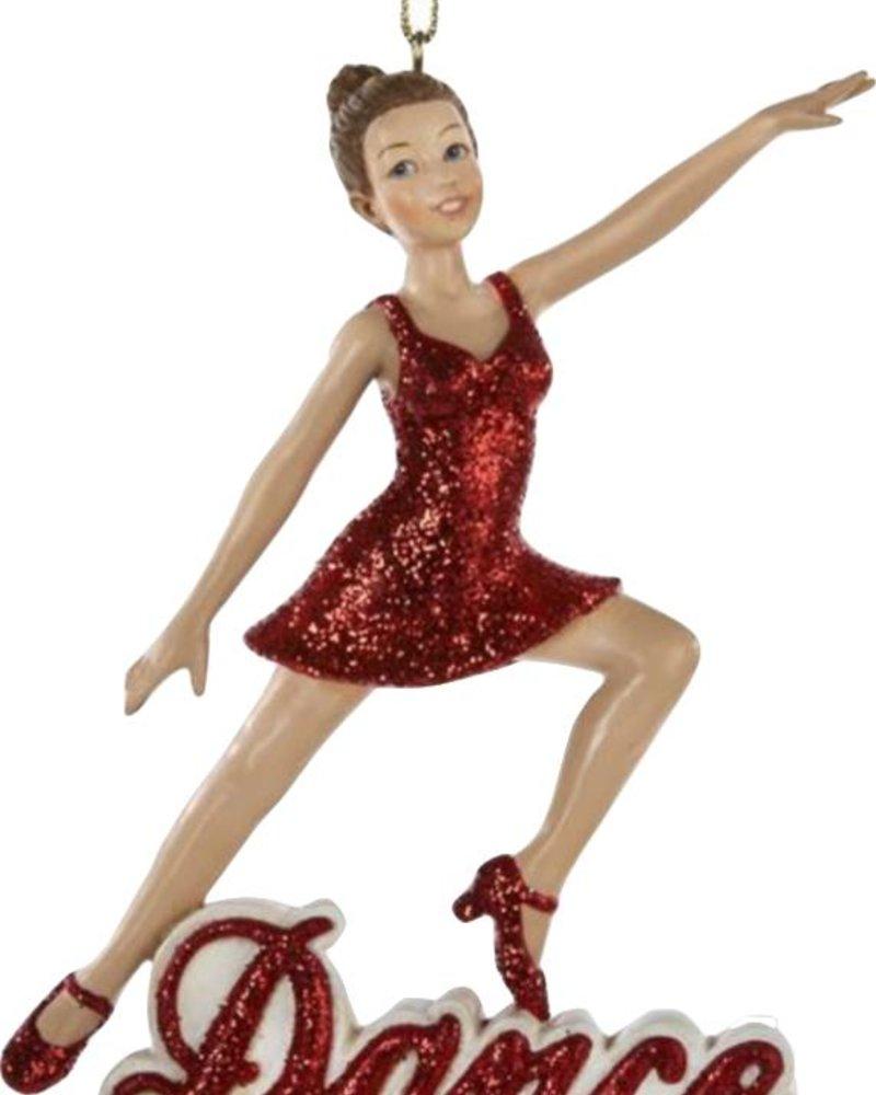 """""""Dance"""" Girl Ornament"""
