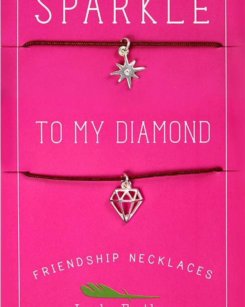 Lucky Feather Friendship Necklace