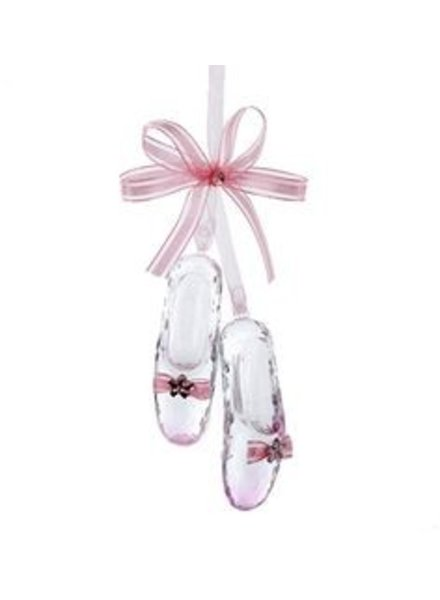 Ballet Shoes with Bow Ornament