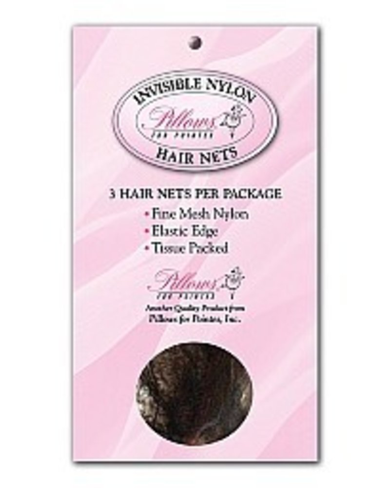 Pillows for Pointes 3-Pack Hairnets
