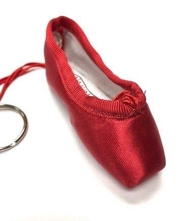 Pillows for Pointes Minishooz Pointe Shoe Key Chain