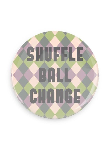 B Plus Printworks Shuffle Ball Change Pocket Mirror