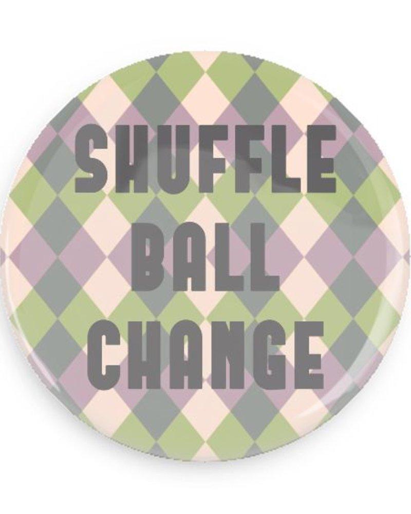 B Plus Printworks Shuffle Ball Change Pocket Mirror