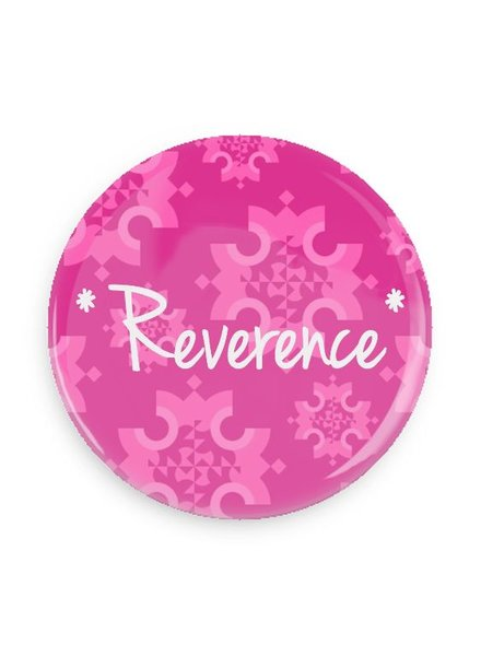 B Plus Printworks Reverence Pocket Mirror