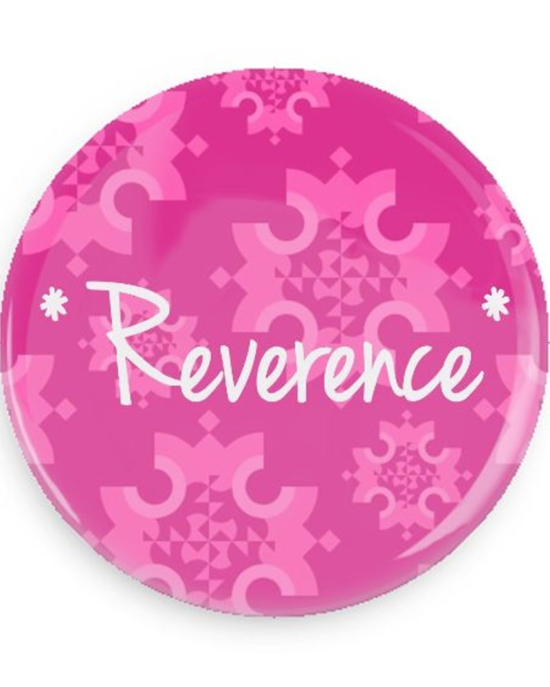 B Plus Printworks Reverence Pocket Mirror