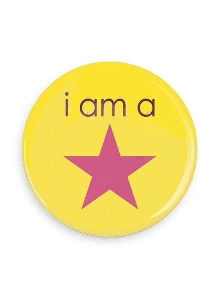 B Plus Printworks I'm a Star Pocket Mirror