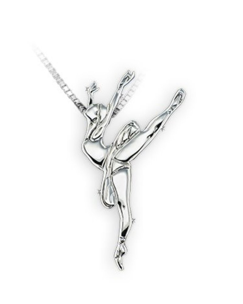 Mikelart Dancer Jewel Arabesque Necklace