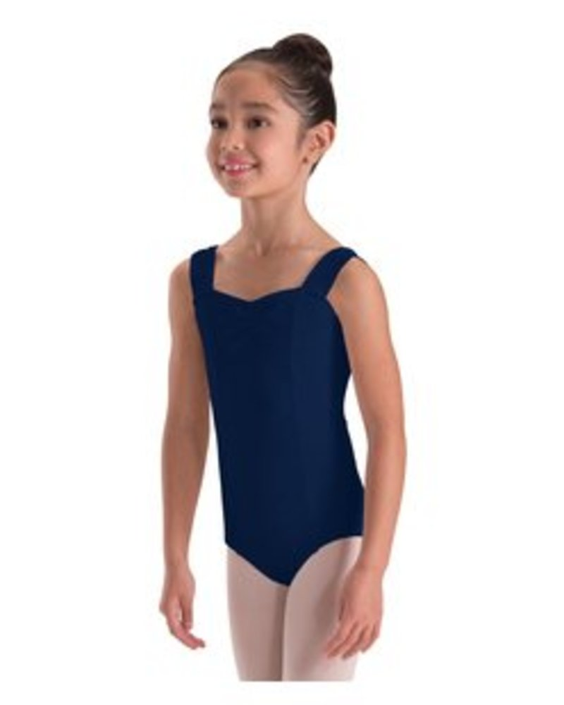 Motionwear Wide Strap Princess Seam Leotard