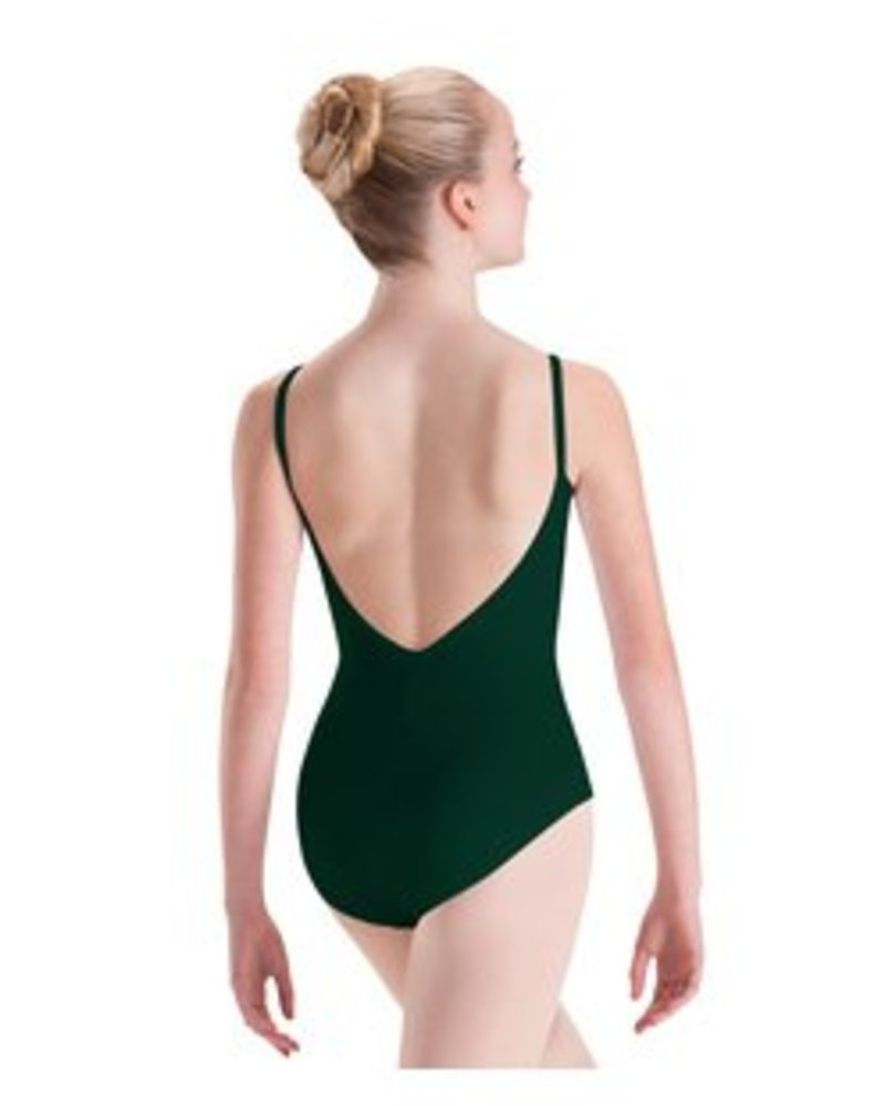 Motionwear Pinch Front, Pinch Back Camisole Leotard