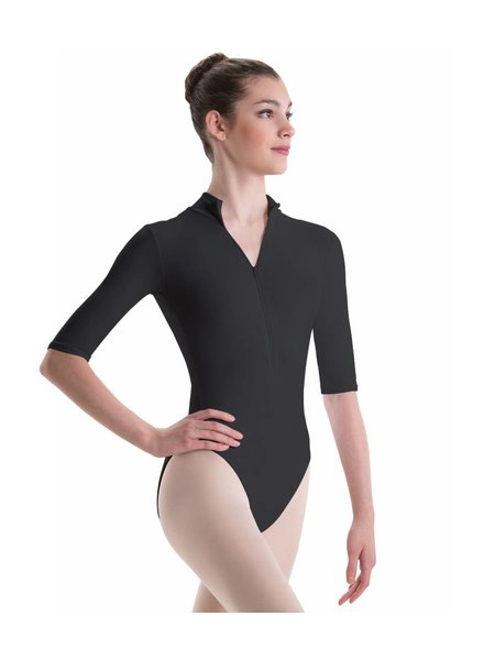 Motionwear Mock Turtleneck 3/4 Sleeve Leotard