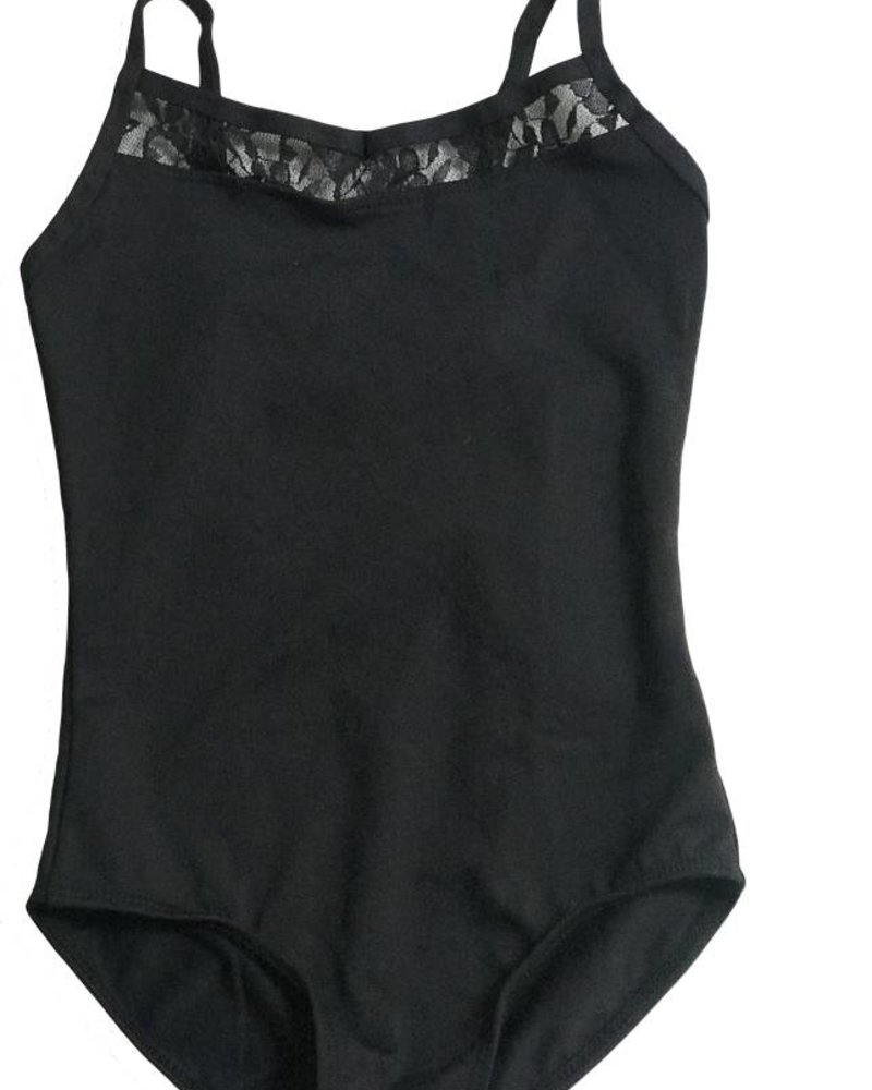 Danshūz Kid's Camisole Leotard with Lace