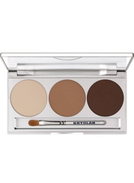 Kryolan Eye Shadow Trio Set