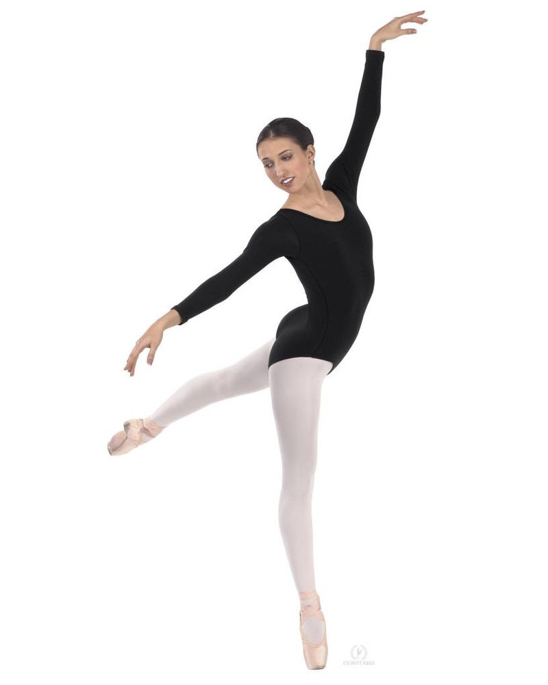Eurotard Microfiber Long Sleeve Leotard