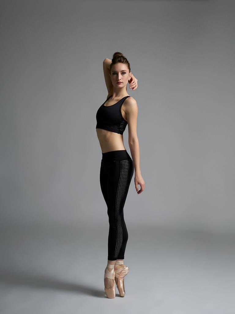 Jule Dancewear Dot Mesh Sports Bra