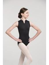 Ainsliewear Girls Zip Front Leotard