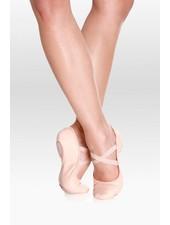 Só Dança Brit Youth Leather Split-Sole Ballet Shoe