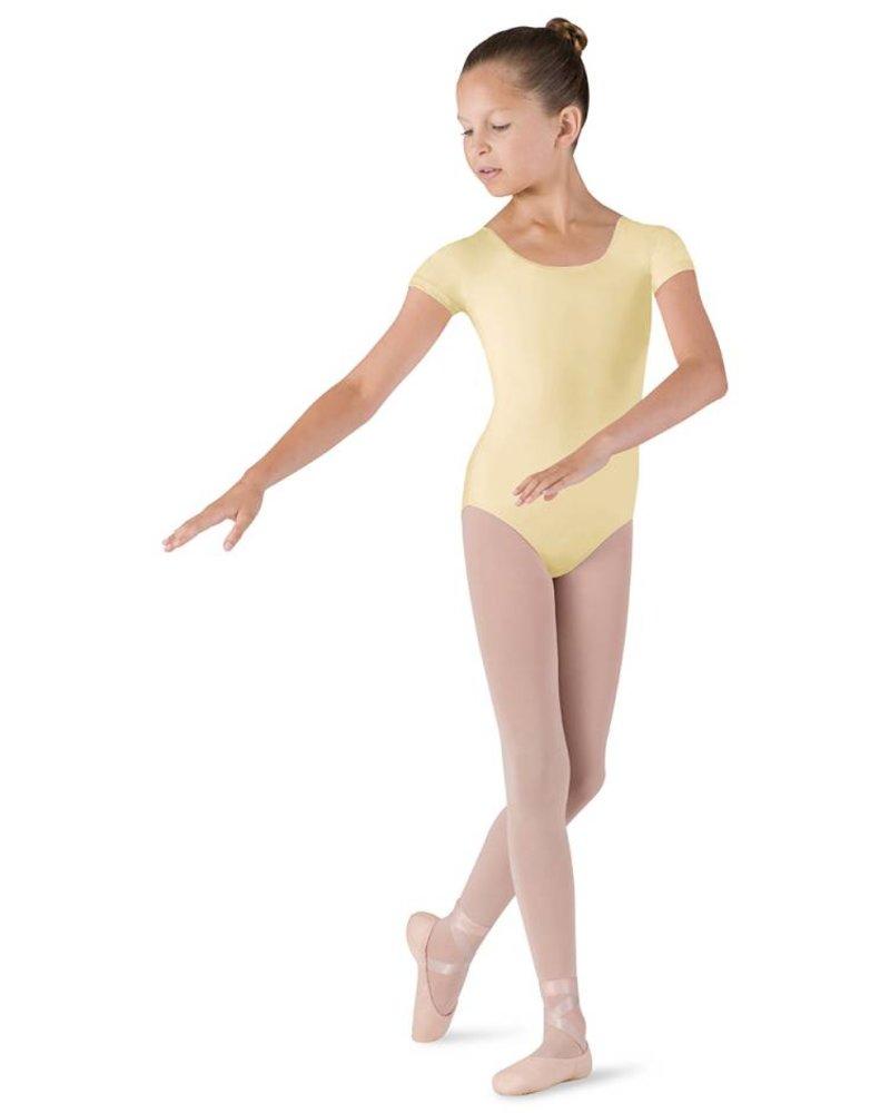 Bloch Girls Ballet Short Sleeve Leotard