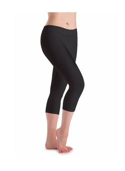 Motionwear Flat Low Rise Capri Legging