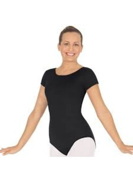 Eurotard Microfiber Adult Short Sleeve Leotard