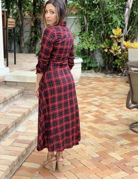 Promesa Pretty In Plaid Dress