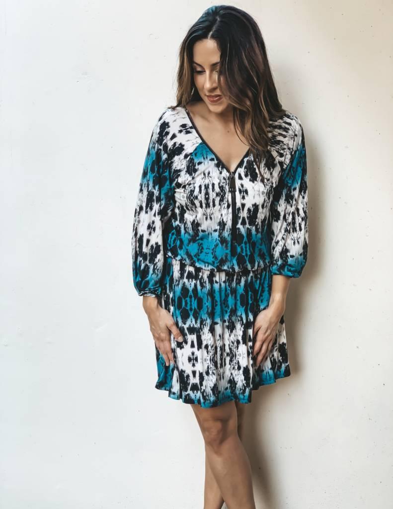 Ariella Ariella Wild Side Drop Waist Dress